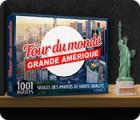1001 Puzzles Tour du monde Grande Amérique jeu
