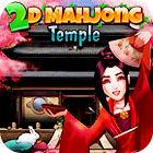 2D Mahjong Temple jeu
