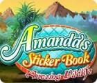 Amanda's Sticker Book: Amazing Wildlife jeu