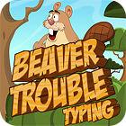 Beaver Trouble Typing jeu