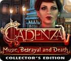 Cadenza: Musique, Trahison et Mort Edition Collector jeu