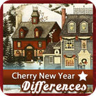 Cherry New Year 5 Differences jeu