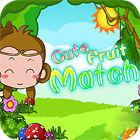 Cute Fruit Match jeu