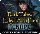 Dark Tales: Edgar Allan Poe's Lenore Collector's Edition jeu