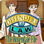 Defenders of Law: The Rosendale File jeu
