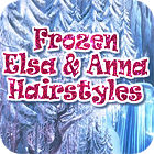 Frozen. Elsa and Anna Hairstyles jeu