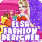 Elsa Fashion Designer jeu
