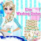 Elsa Washing Dishes jeu