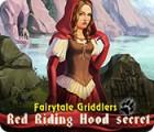 Picross conte de fées Le secret du Petit Chaperon rouge jeu
