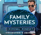 Family Mysteries: Criminal Mindset Collector's Edition jeu