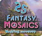 Fantasy Mosaics 25: Wedding Ceremony jeu