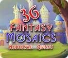 Fantasy Mosaics 36: Medieval Quest jeu