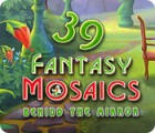 Fantasy Mosaics 39: Behind the Mirror jeu