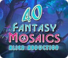 Fantasy Mosaics 40: Alien Abduction jeu
