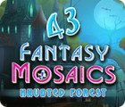Fantasy Mosaics 43: Haunted Forest jeu
