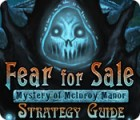 Fear For Sale: Mystery of McInroy Manor Strategy Guide jeu