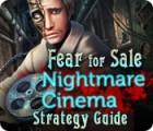 Fear For Sale: Nightmare Cinema Strategy Guide jeu