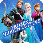 Frozen. Hidden Letters jeu