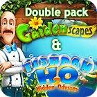 Gardenscapes & Fishdom H20 Double Pack jeu