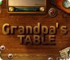 Grandpa's Table jeu
