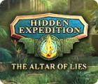 Hidden Expedition: The Altar of Lies jeu