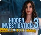 Hidden Investigation 3: Crime Files jeu