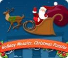 Mosaïques festives. Énigmes de Noël jeu