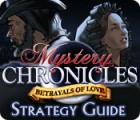 Mystery Chronicles: Betrayals of Love Strategy Guide jeu