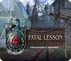 Mystery Trackers: Fatal Lesson Collector's Edition jeu