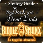 Riddle of the Sphinx Strategy Guide jeu