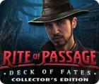 Rite of Passage: Destins en Main Édition Collector jeu
