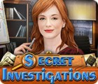 Secret Investigations jeu