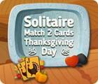 Solitaire Paires de cartes Thanksgiving jeu