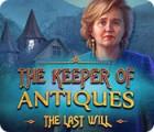 The Keeper of Antiques: Le Dernier Testament jeu