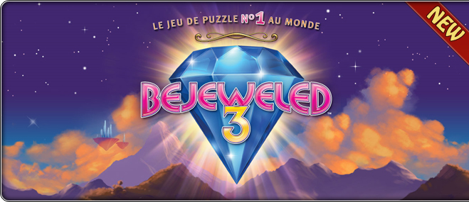 Jeu exclusif Bejeweled 3