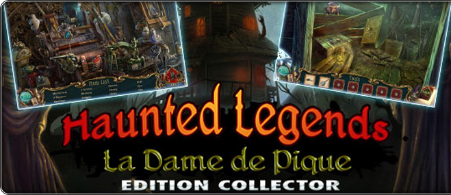 Jeu exclusif Haunted legends: La Dame de Pique Edition Collector