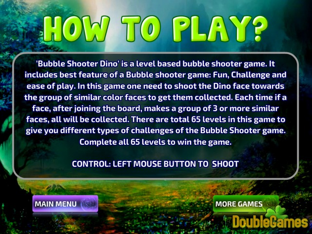 Free Download Bubble Shooter Dino Screenshot 1