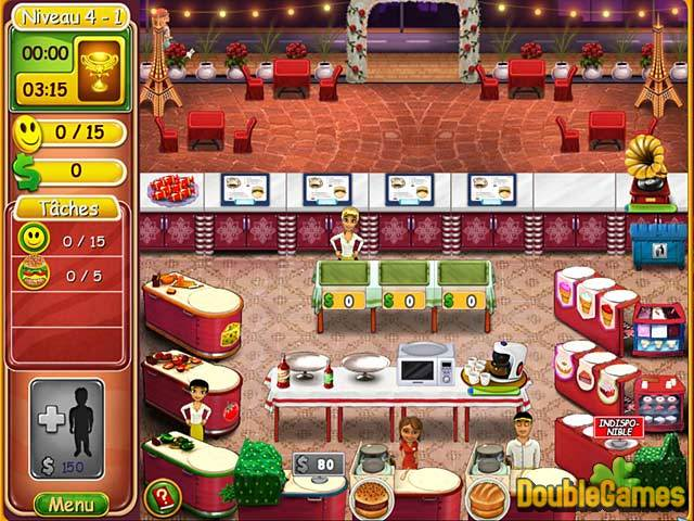 Burger Bustle: Cuisine Bio Game Download for PC and Mac