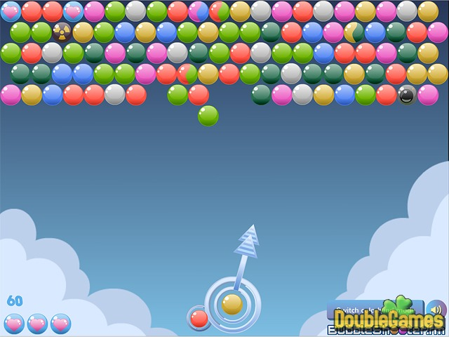 Free Download Cloudy Bubbles Screenshot 1