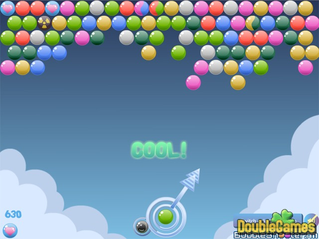 Free Download Cloudy Bubbles Screenshot 2
