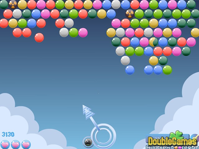 Free Download Cloudy Bubbles Screenshot 3