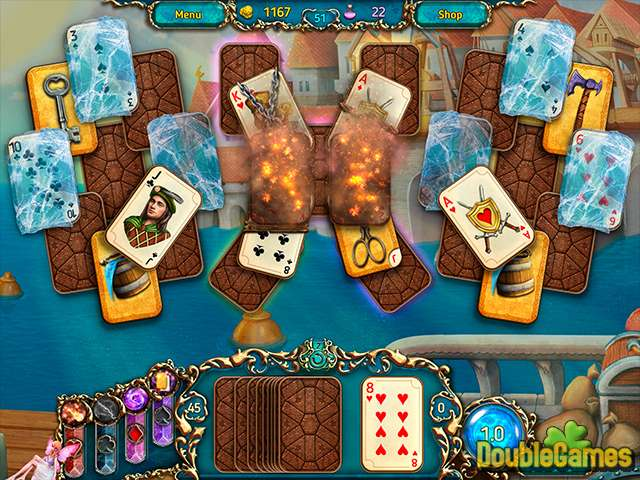 Free Download Dreamland Solitaire: Dark Prophecy Screenshot 2