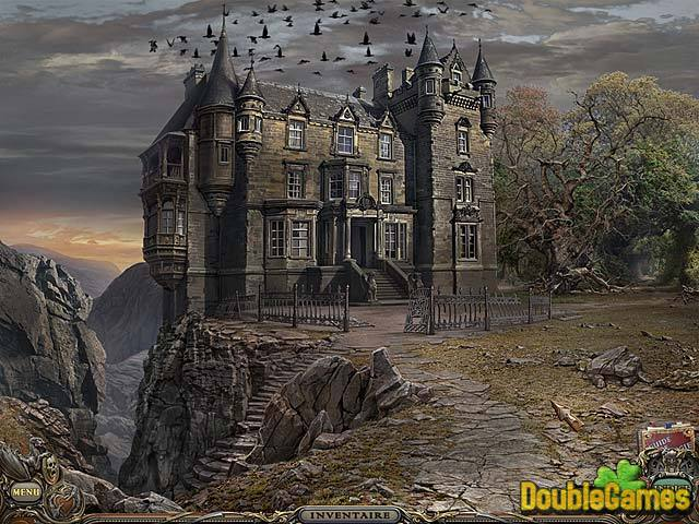 haunted manor lamulette de la mort