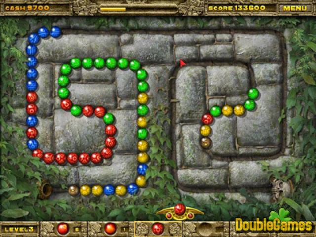 Capture d'écran de Inca Ball à téléchargement gratuit 2