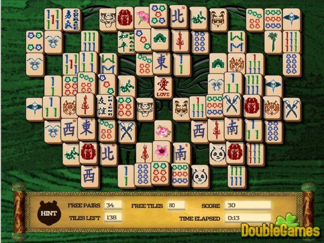 Capture d'écran de Kung Fu Panda 2 Mahjong Mayhem à téléchargement