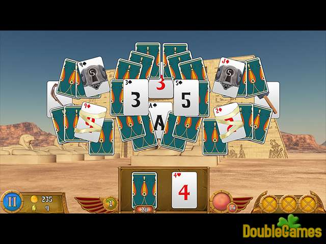Free Download Luxor Solitaire Screenshot 2