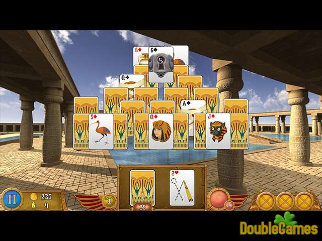 Free Download Luxor Solitaire Screenshot 3