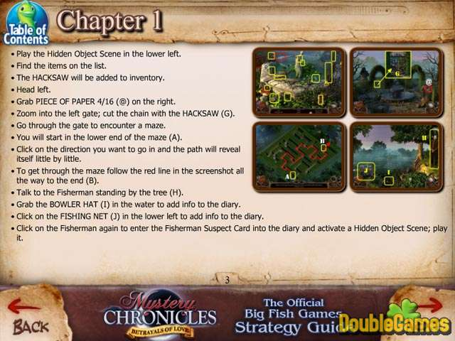 Free Download Mystery Chronicles: Betrayals of Love Strategy Guide Screenshot 2