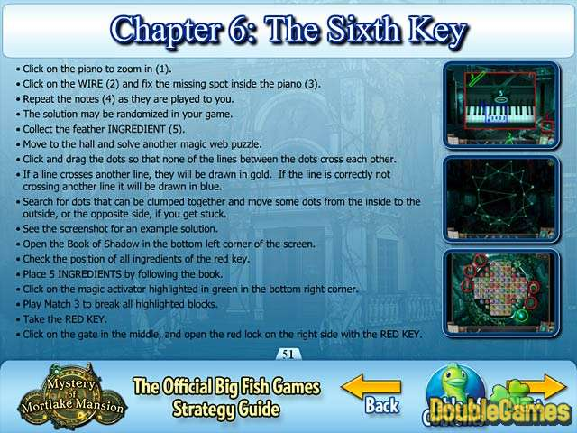 Free Download Mystery of Mortlake Mansion Strategy Guide Screenshot 1