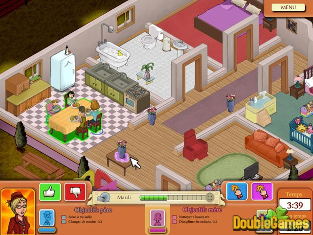 Free Download Nanny 911 Screenshot 2